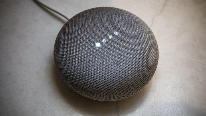 Spotify a Google Home Mini